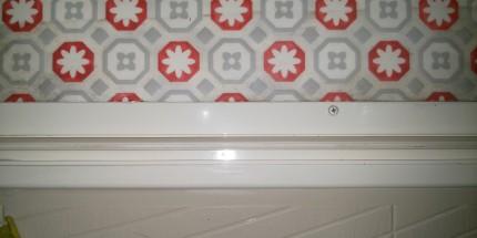 浴室ドアのレール