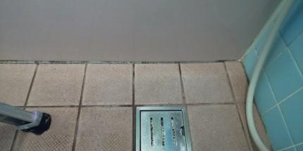 浴室床タイル