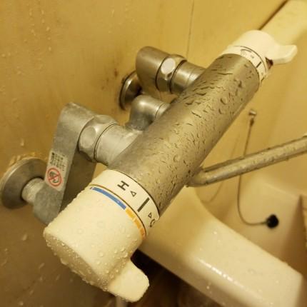 浴室蛇口磨き