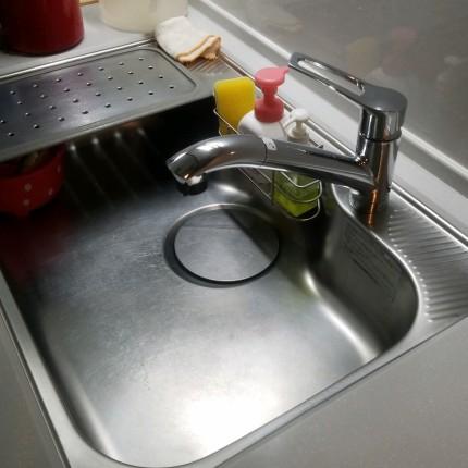 キッチンシンククリーニング