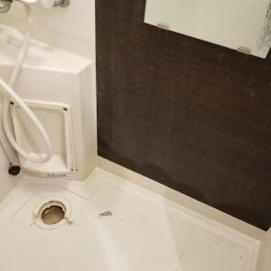 お風呂の壁おそうじ