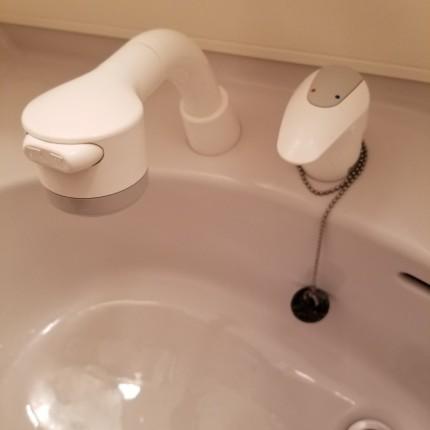 洗面所クリーニング