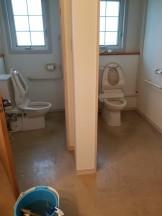 集合トイレ清掃