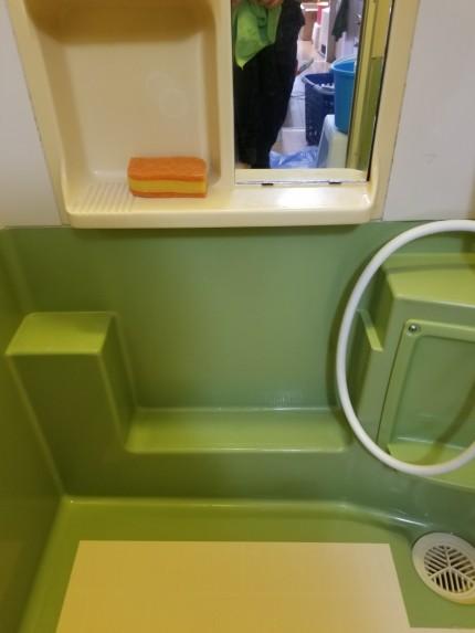 浴室皮脂汚れ