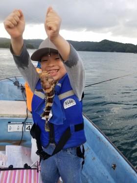 週末の釣り