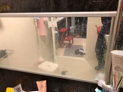 浴室鏡研磨