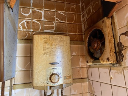 キッチンヤニ汚れ