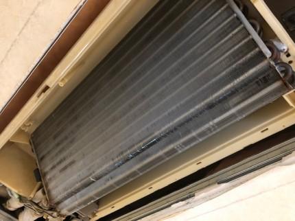 天井埋め込み式エアコンクリーニング