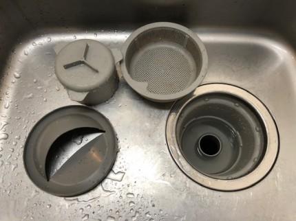 キッチンシンク清掃