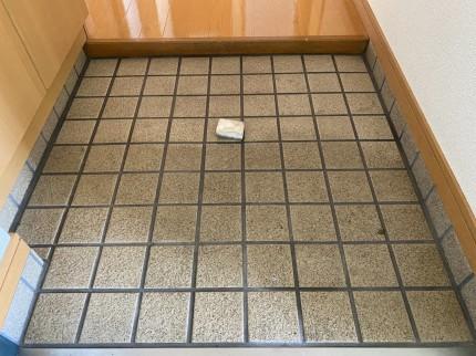 玄関土間清掃